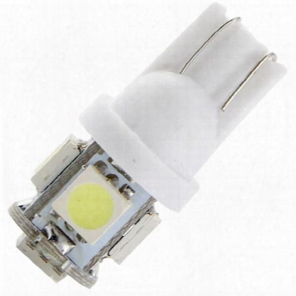 500x T10 194 168 W5w 12v 5050 5 Smd 5 Leds Led Light Bulb Clearance Light Parking Light Indicator Reading Lamps White