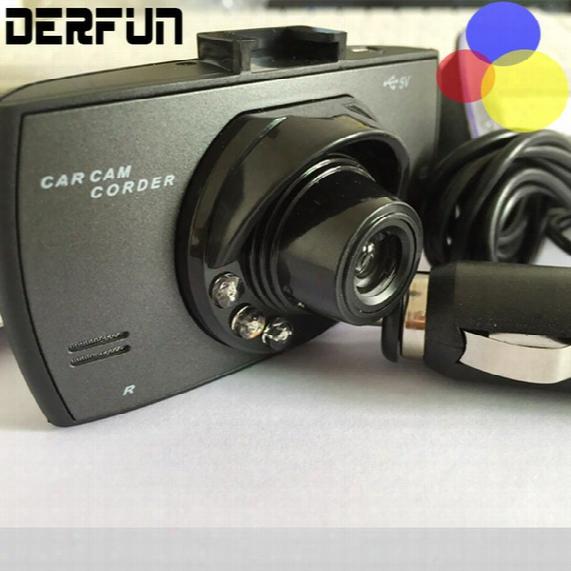 Car Dash Cams Hd Car Dvr 2.4'' Camera Cam Recorder 720p Dashcam With 6 Fixed Focus Lens
