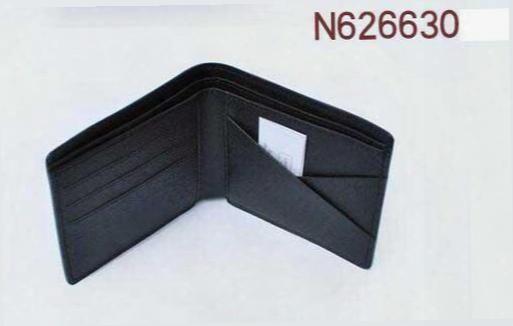 Drop Shipping Fashion Designer Gentlemen Prefer Short Wallets Clutch Leather Men Women Business Card Holders Wallet With Box