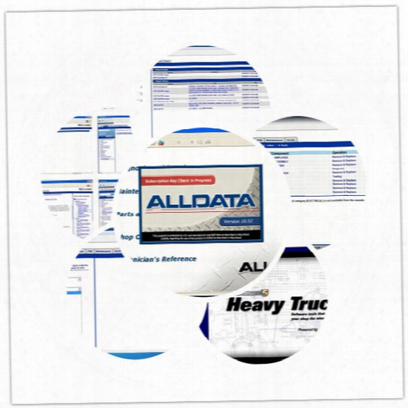 Factory Price Alldata V10.53 Car Repair Software, Automotive Diagnostic Software For Cars, Light Trucks Moto - Heavy Truck With Keygen