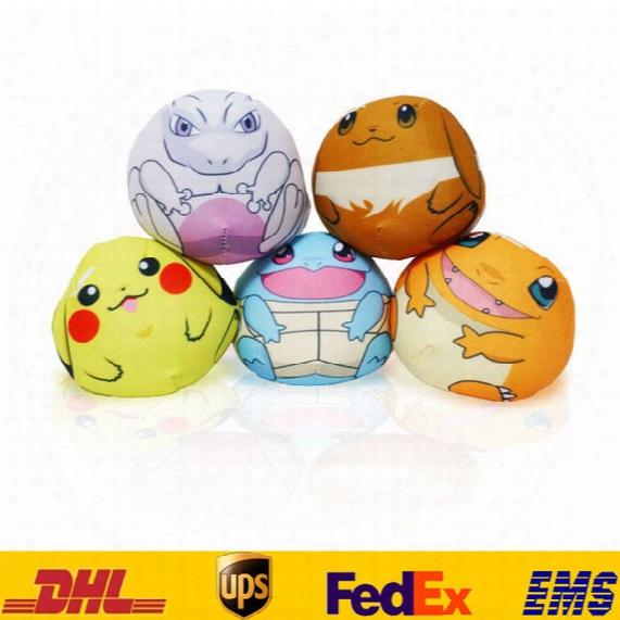 New Poke Pikachu Mewtwo Plush Key Rings Cartoon Figure Handbag Car Cell Phone Pendant Keychain Stuffed Doll Toys Gifts Hh-k02