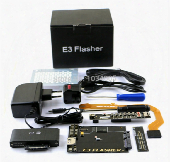 Original E3 Flasher Limited Edition For Ps3 Including 11 Accessories+e3 Card