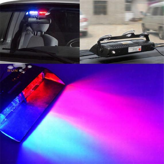 S2 Viper Federal Signal 16pcs High Power Led Car Strobe Light Auto Warn Light Police Light Led Emergency Lights 12v Car Front Light