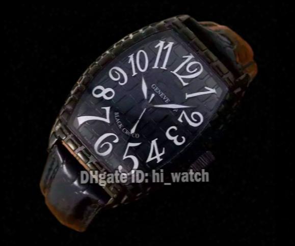 Super Clone Luxury Brand Cheap New Black Croco 8880 Ch Blk Cro Color Dream Black Dial Automatic L Pvd Black Pattern Watches