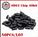 Best price!!!good feedback 4d63 id 4d63 40 bit auto car transponder chip blank 4d63 40bit unlocked chip for mazda ford 50pcs/lot