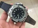 Top Quality Men's 48MM Dive 4000M Automatic King Power Diver Oceanographic Black Dial Rubber Bands Automatic Mens Watch WatchesTop Quality M