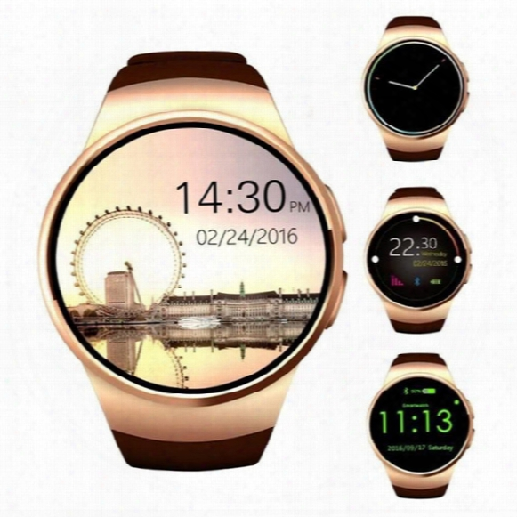 Bluetooth Smart Watch Support Sim And Tf Card Heart Rate Reloj Wearable Smartwatch Compatible For Ios Android Kw18