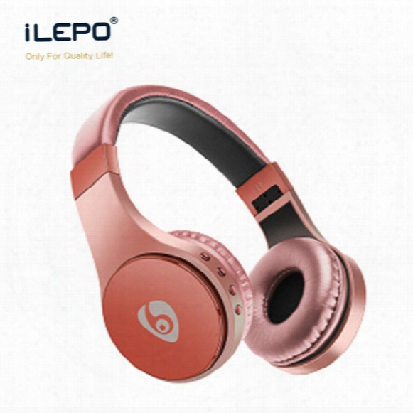Bluetooth Wireless Headphone S55 Wearing Headphones With Card Fm Earphone Head-mounted Foldable Headset With Retail Pack For Iphone Smasung