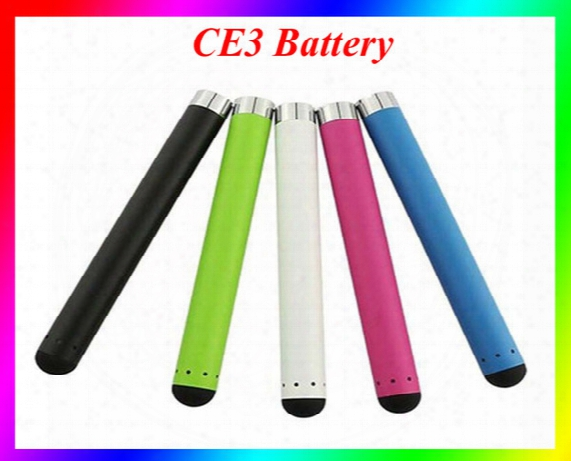 Ce3 Battery O-pen Bud Battery Touch Pen 280mah 510 E Cigarettes For Wax Oil Cartridge Vaporizer Ce3 Blister Kit