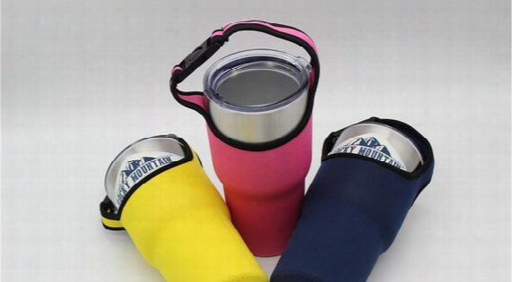 Colored Sports Water Bottle Case For 30oz Yeti Cup Insulator Bag Forrocky Mountain Tumbler Neoprene Pouch Holder Sleeve Cover Carrier