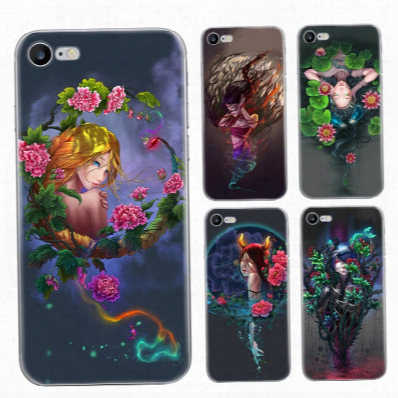 For Iphone 7 Plus 6s Plus Tpu Case Twelve Constellations Cartoon Scrub Painting Cell Phone Cases Colorfully Silicone Protector Cases