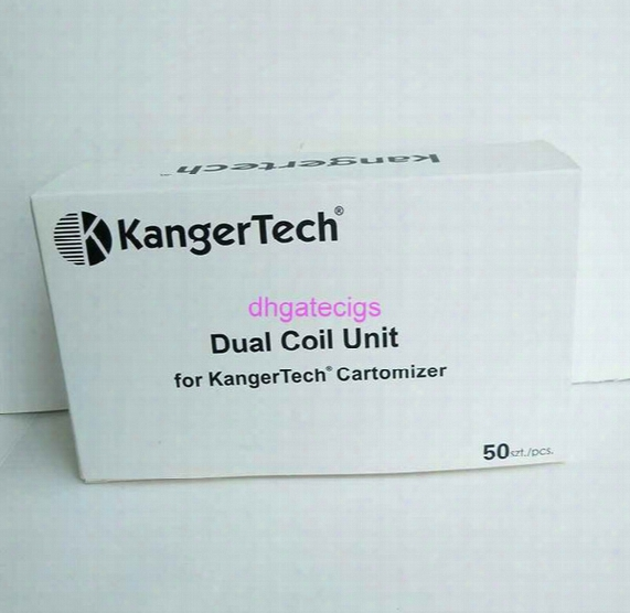 Kangertech Upgraded Dual Coil 1.2ohm 1.5ohm 1.8ohm 2.0ohm For Kangertech Cartomizer Aerotank Mini Protank 3 Evod T3d