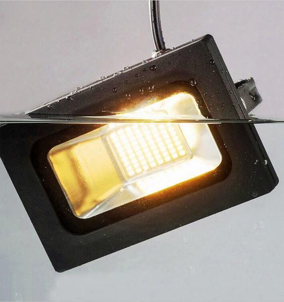 Led Floodlight 100w 60w 30w 15w Reflector Led Flood Light Spotlight 220v 110v Waterproof Outdoor Wall Lamp Garden Projectors