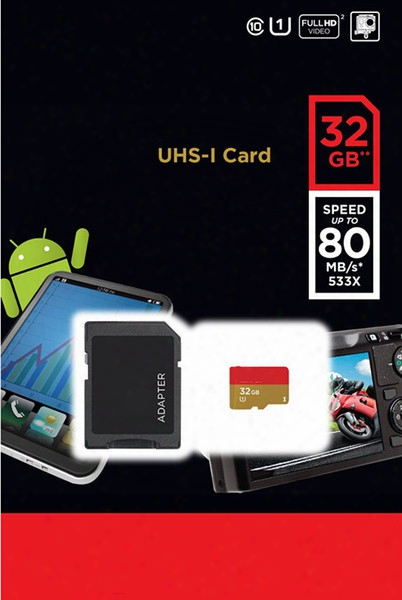 New Arrival 64gb Class-10 Uhs-i Micro Sd Tf Memory Card Free Sd Adapter Microsd Sdhc Card