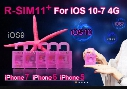 r sim 11+ plus rsim 11+ RSIM11+ r sim11+ unlock card for iPhone 7 plug iphone 6 unlocked iOS10 IOS 10 9/8/7 4G CDMA GSM/WCDMA SB AU SPRINT.