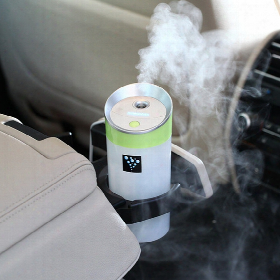 Usb 5v Power Supply Ultrasonic Ionizer Water Diffuser With Mist Humidifier Portable Mini Car Air Purifier Humidifier