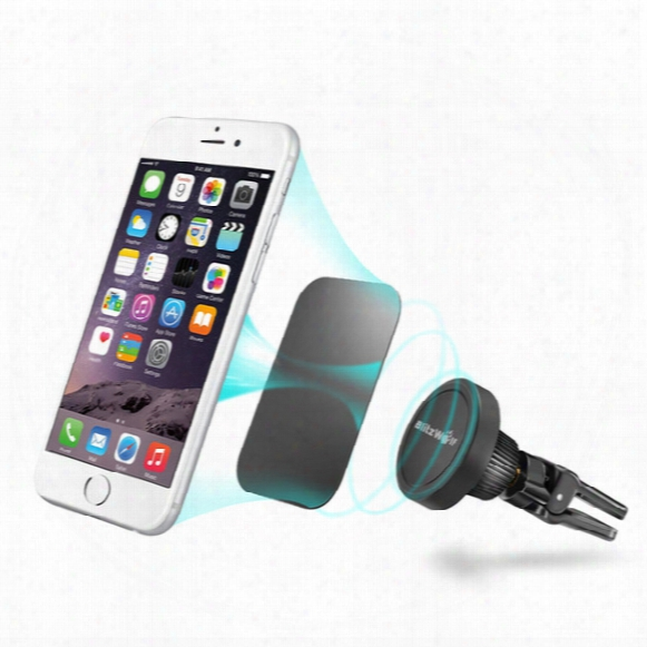 Wholesale-blitzwolf Bw-mh1 360 Degree Rotation Magnetic Car Air Vent Mount Holder For Iphone For Samsung For Xiaomi