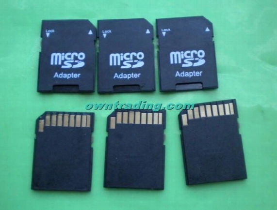 Wholesale-sd Card Adapter Tf Micro Sd/sdhc To Sd Card Adapter Can Imprint Your Logo With Some Extre Fee