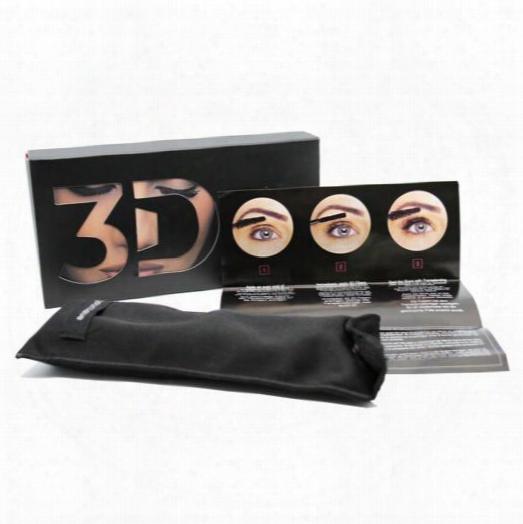 Younique 3d Fiber Lashes Mascara Waterproof Double 3d Fiber Lashes Eyelash Makeup Set 1set=2pcs Free Ship