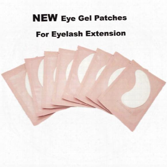 50pairs Eyelash Silk Eye Pads Lint Free Under Eye Patch For Eyelash Extension Eye Pads From South Korea Free Shipping