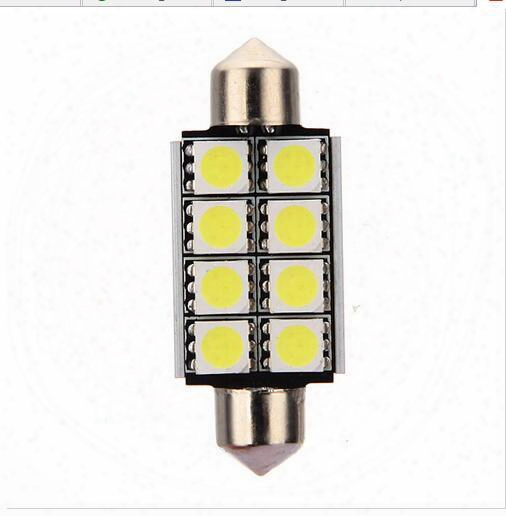 Canbus Error Free 39mm 41mm 8smd 5050 Led C5w Car Auto Bulbs Festoon Light Dome Door Light Pathway Light