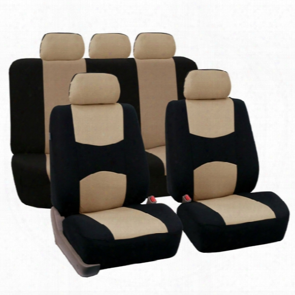 Full Set Car Seat Covers Universal Fit Car Seat Protectors High Quality Auto Interior Accessories Car Decoration