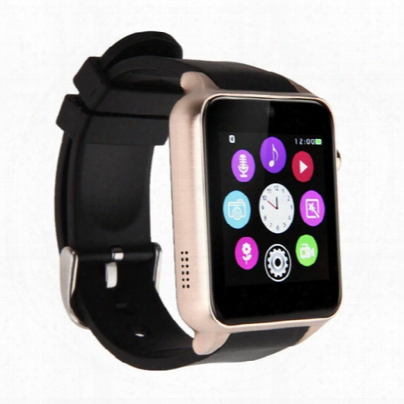Gt88 Bluetooth Smart Watch With Sim Card Slot Heart Rate Health Watchs For Android Samsung And Ios Iphone Smartphone Bracelet Smartwatch