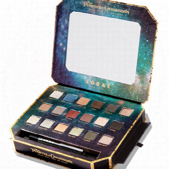 Newest In Stock Lorac Pirates Of The Caribbean Eye Shadow Palette 18 Colors Eyeshadow Makeup Palette With Eyeliner Pencil