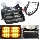 18 LED Strobe Light Flashing Emergency Security Car Truck Light Signal Lamp Personal Emergency Vehicle Windshield Strobe Dash Warning Light