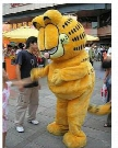 Brand New cartoon Garfield cat Mascot costume Adult Size Mouse children kid toy gift free fast ship