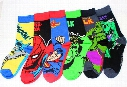 Fashion Cartoon Cotton Men Women socks Superhero DC COMIC Hulk Green Lantern Wonder women Batman Socks Lovers Sports socks