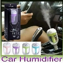 Nanum Car Plug Air Humidifier Purifier Vehicular Essential Oil Ultrasonic Humidifier Aroma Mist Car Fragrance Diffuser 4 Colors