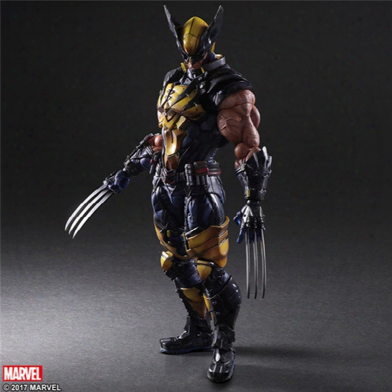 161140 Marvel X-men Origins Wolverine Pvc Action Figure Collectible Model Gift Toy Hot Sales Free Shipping