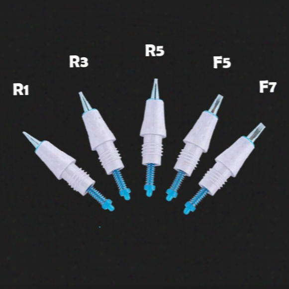 50pc Disposable Needle Cartridge For Artmex V8 V6 V3 Semi Permanent Makeup Machine Derma Pen Microneedle R1 B1 R3 R5 F5 F7
