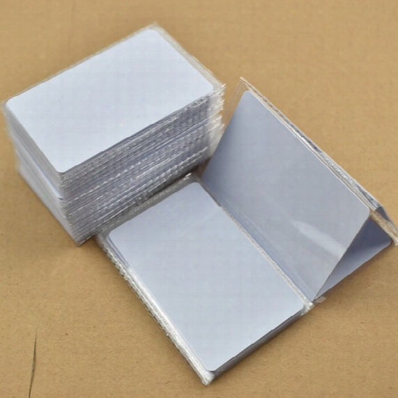 50pcs/lot Iso14443a Nfc Card Rfid Smart Tag 1k Ntag215 Chip White Card For All Nfc Enabled Devices