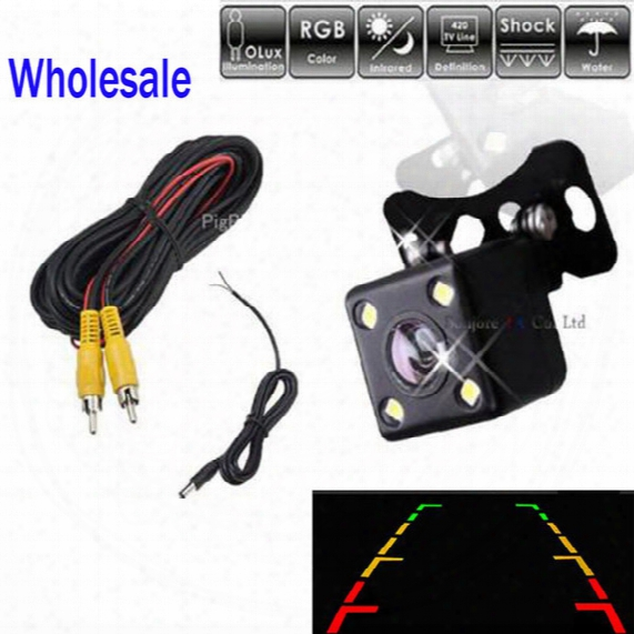 Best Price, Universal Ccd Car Rear View Camera / Front Camera Night Vision Waterproof Backup Parking Assistance Reverse Cam
