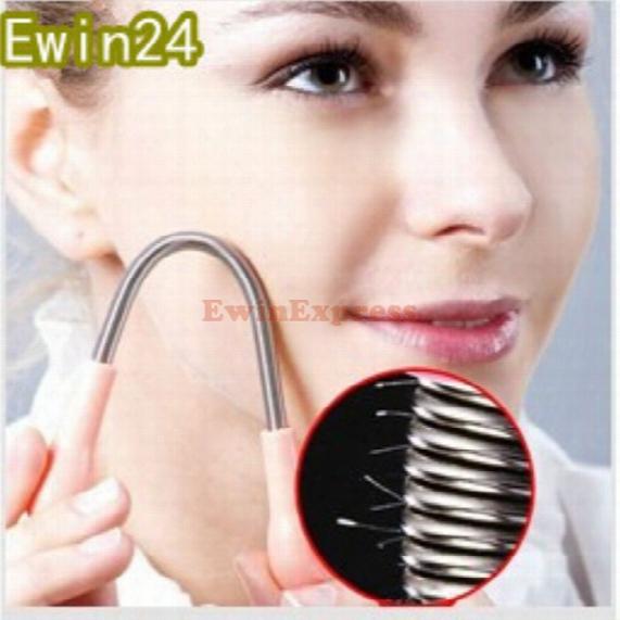Facial Hair Epicare Spring Remover Tsick Epilator Threading Beauty Tool Hair Threader Body Hair Removal Threading Tool
