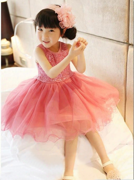 High Quality Baby Girl Dress Lace Vest Dress For Girl Inffant Princess Birthday Party Wedding Dresses For Baby Girl Chirstening
