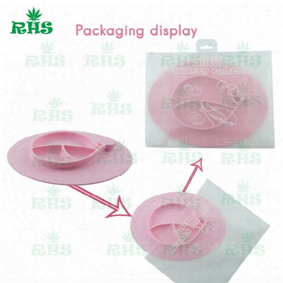 Silicone Baby Food Tray Whale Shape Cartoon Cute Baby Dish Silicone Suction Placemat For Baby And Toddlers Wity Fda S-03