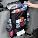 Auto Care Car Seat Organizer Cooler Bag Multi Pocket Arrangement Bag Back Seat Chair Car Styling Seat Cover Organiser