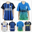 Kids Inter Soccer Jersey JOVETIC ICARDI PALACIO KONDOGBIA MEDEL CANDREVA EDER Customize Any Name Number Boys Youth Milan Football Shirt Kit