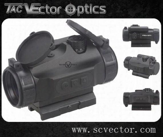 Vector Optics Hunting Scopes Tactical 1x30 Red Dot In Riflescopes Reflex Sight Auto Light Sense 110mm 4.3 Inch Sight