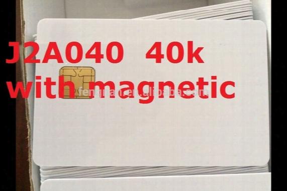 Wholesale- 10 Pieces For 1 Lot Original Chips For J2a040 40k Magnetic Card Original Chips