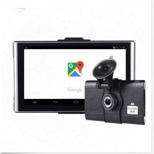 7 Inch Gps Android With Wifi Ddr 512m Flash8g Plus 1080p Front Camera
