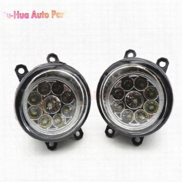 81210-06052 Car Styling Led Fog Lamps Refit Right + Left For Toyota Camry Corolla Yaris Lexus Gs350 Gs450h Lx570 Lx570 Rx450h