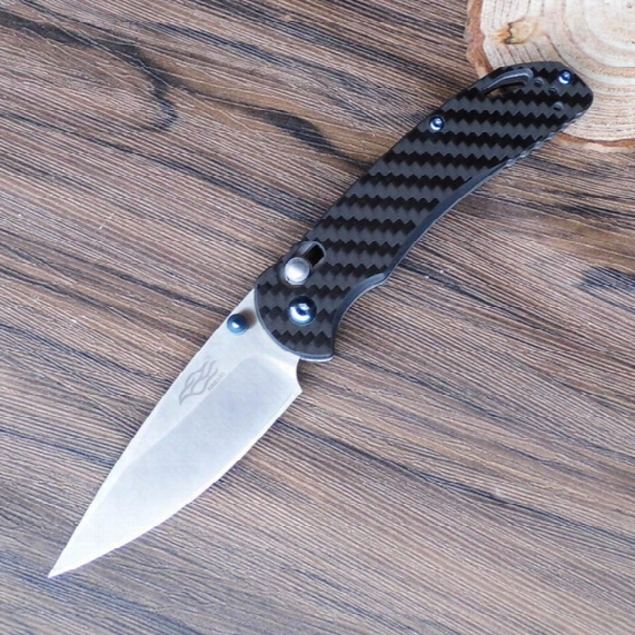Firebird Ganzo F753m1-cf Outdoor Hunting Pocket Edc Camping Survival Tactical Fishing Folding Knife 440c Blade Carbon Fiber Handle