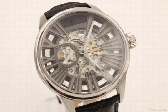 Hot Selling Luxury Ar4629 Automatic Movement: Skeleton Hollow Man's New Sports Watch Men's Watch Sapphire Glass Quality Free Shipping, Warra