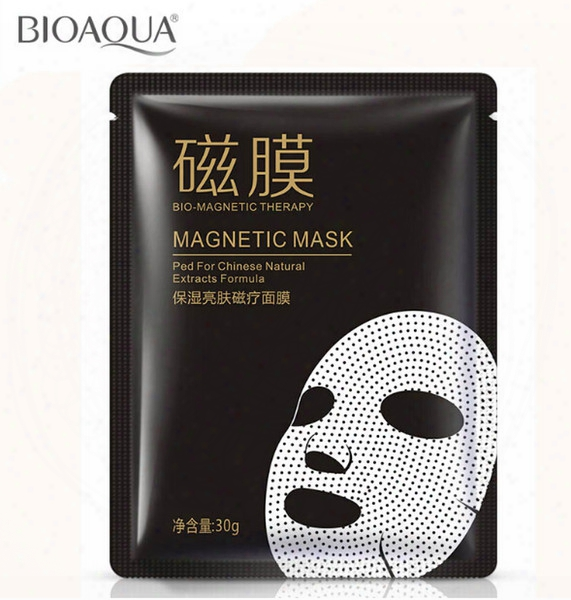 Hydrating Brightens Magnetic Face Mask Patch Cleansing Moisture Oil Control Pores Skin Care Treatment Mask