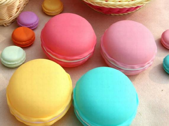 Macaron Jewelry Case Cute Candy Color Macaron, Mini Cosmetic Jewelry Storage Box Jewelry Box,free Shipping