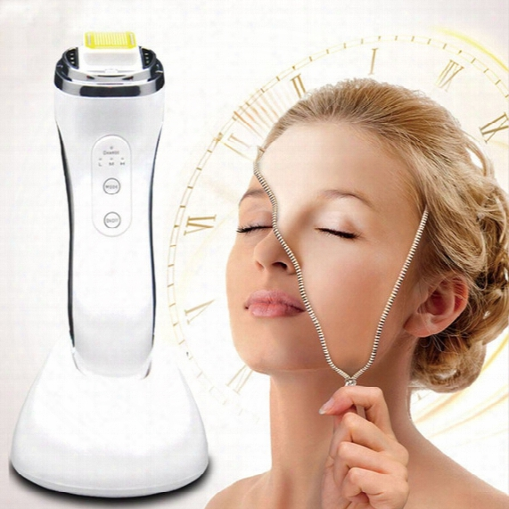 New Rf Radio Frequency Skin Face Care Tool Lifting Rejuvenation Wrinkle Removal Facial Physical Massage Machine Rechargeable